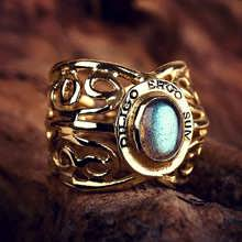 I Love Therefore I Am Ring Gold