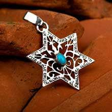 Star of David for protection - silver