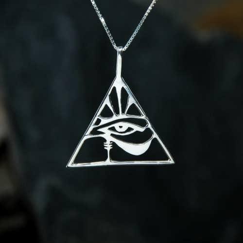 Œil d'Horus argent