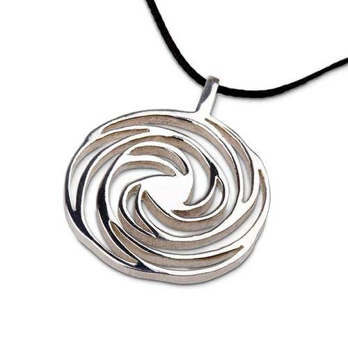 Golden Spiral Silver Small