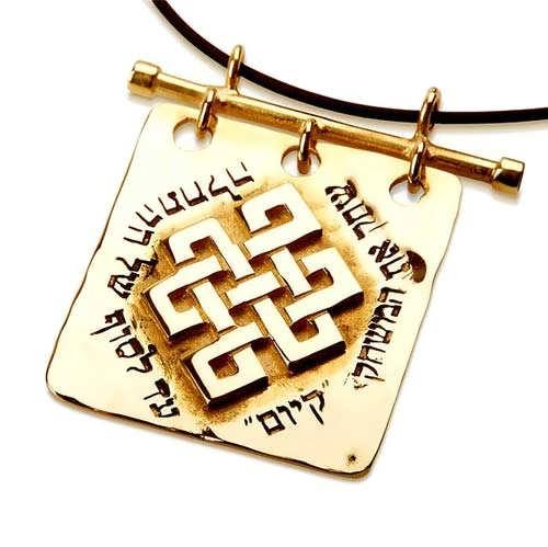 Tibetan Knot Gold