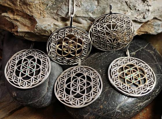 New Flower of Life jewelry Collection