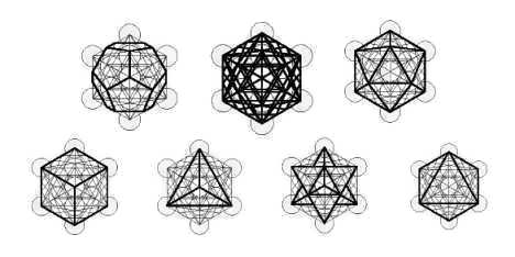 Platonic Solids and Metatron's Cube