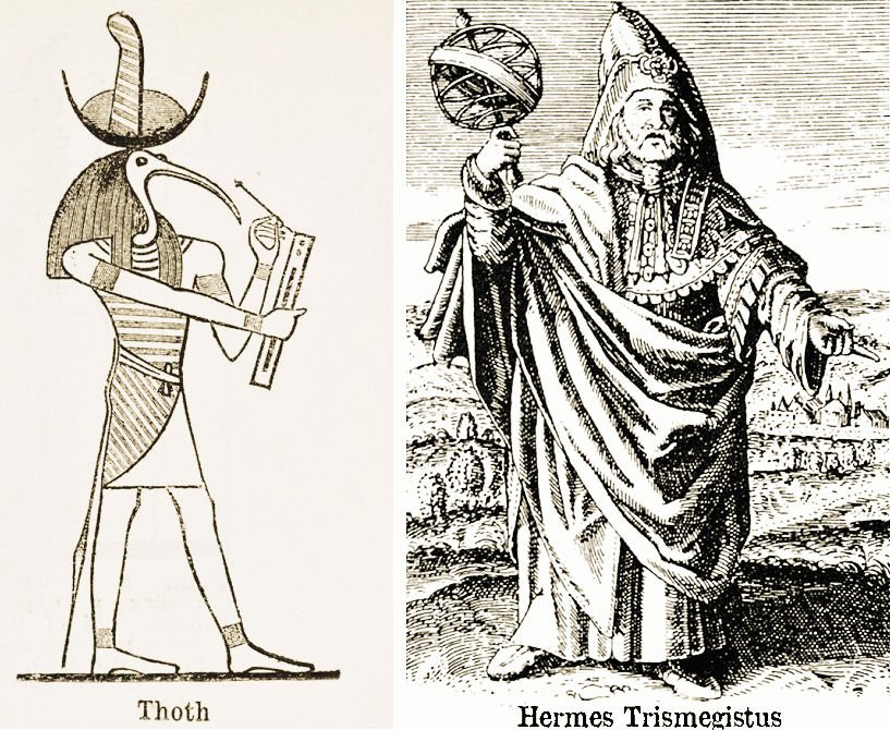 Thoth and Hermes