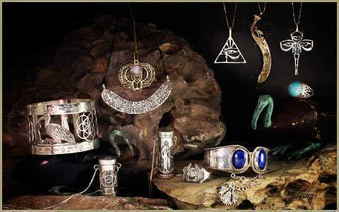 Egyptian Jewelry By the artist David Weitzman