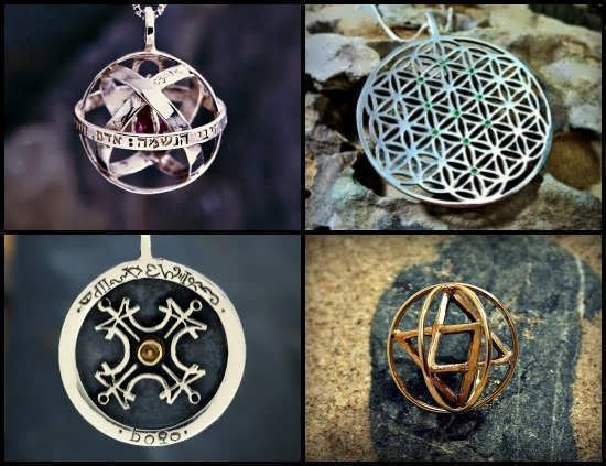 Ka Gold Jewelry - Spiritual Symbols and Sacred geometry