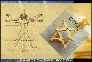 Ka Gold Jewerly - Merkaba