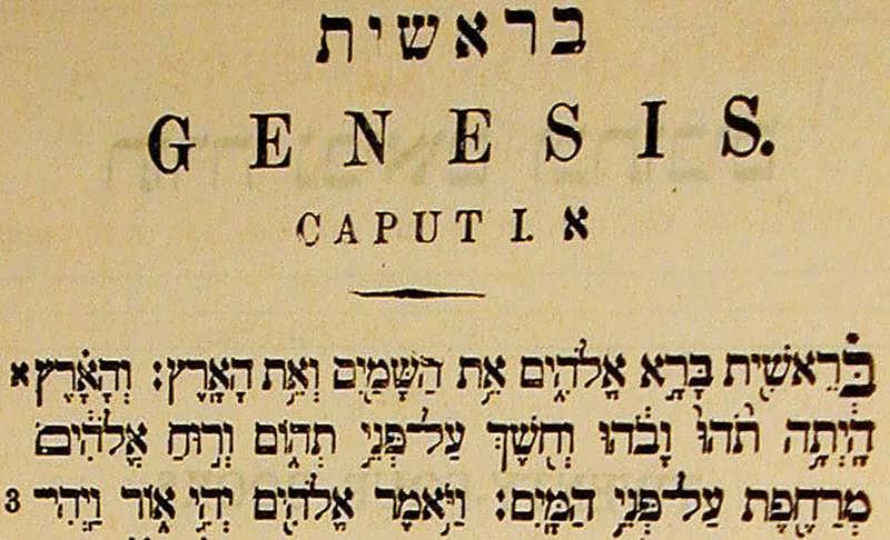 Resultado de imagem para a genesis bereshit