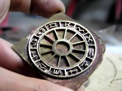 Custom Astrology Pendant