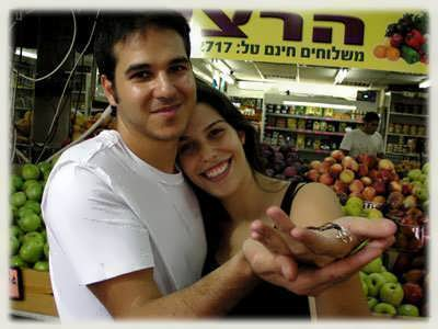 Shlomi and Ronit with the torus knots