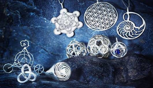 Related Sacred Geometry Jewelry