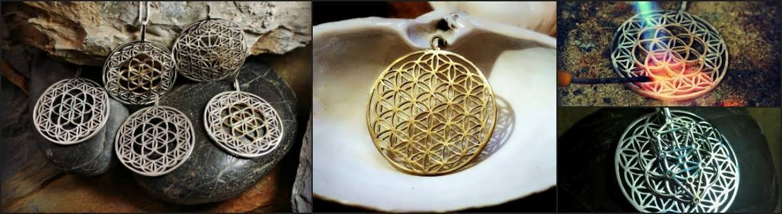 Flower of Life Jewelry