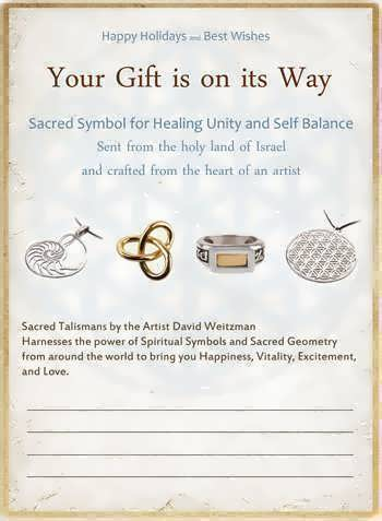 Your gift is on it's way - postcard