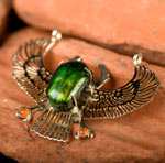 genuine egyptian scarab