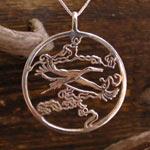 japanese stork silver1