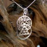 light pendant silver