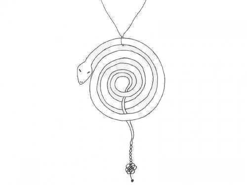 Snake rebirth spiral