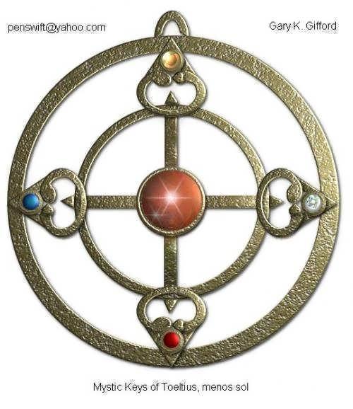 Mystic Keys of Toeltius, menos sol