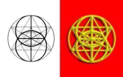 Fibonacci's Merkaba Pendant