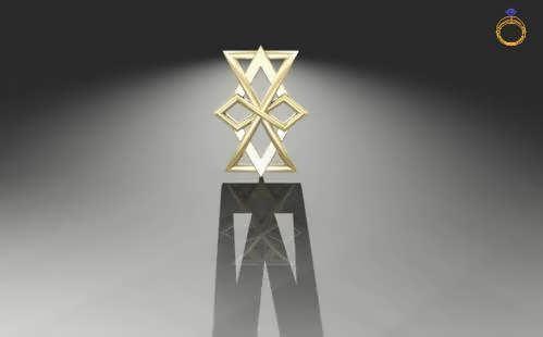 The Infinite Hourglass Pendant
