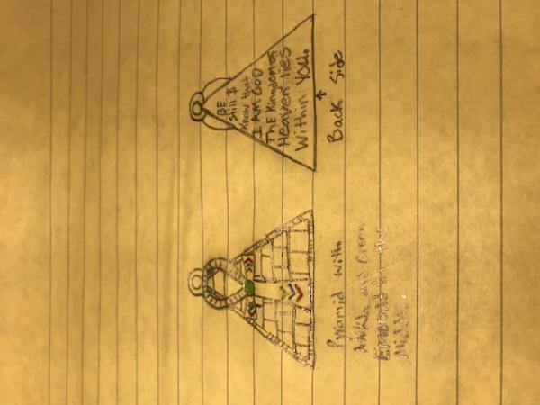 Emeral tablets ankh pyramid