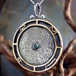 Emerald Tablet Pendant Silver and Gold (*Limited Edition*)
