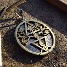 Alchemical Cosmic Tree Pendant