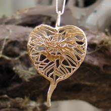 The Awakening Pendant Gold