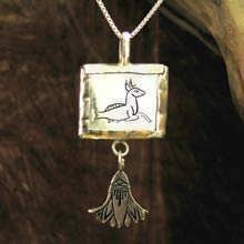 Capricorn Jewelry Pendant Silver (*Sold Out!*)