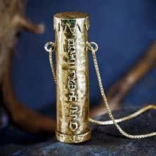Кулон «Дюна», золото