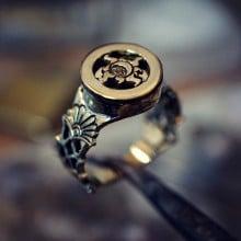 קמע טבעת יום השיוויון האביבי כסף וזהב (*מהדורה מוגבלת*)