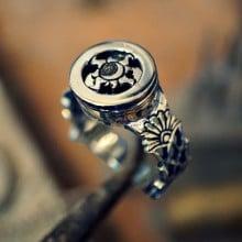 Equinox Talisman Ring Silver (*Pre Order*)