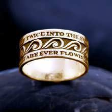 The Ring of Eternal Flow Gold