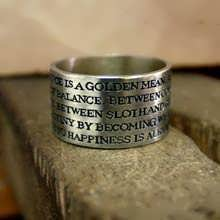 Aristotle Ring of Excellence Silver