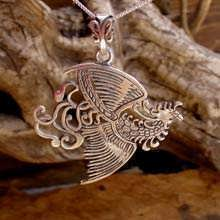 The Fire Element Pendant Silver