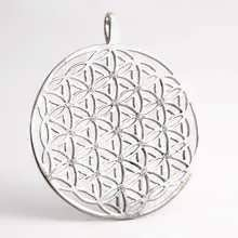 Flower of Life Silver with Zircons