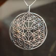 Flower and Tree of Life Silver
