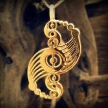 תליון הרמוניה קוסמית - זהב