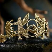 The First Day of Genesis Bracelet Gold