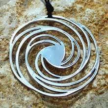 Golden Spiral Silver