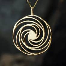 Golden Spiral Gold
