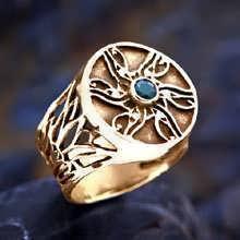 טבעת העין של הורוס זהב