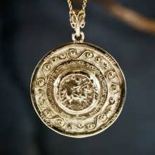 Journey of Life Pendant Gold (Round)