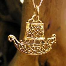 Journey Pendant Gold