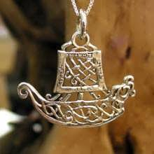 Journey Pendant Silver (Boat)