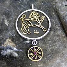 Jupiter-Leo Kazimi Talisman Pendant Silver and Gold (*Sold Out!*)