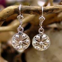 Ka Earring Silver With Zircons