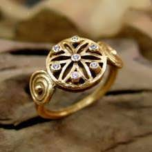 Ka Ring Gold with Gemstones