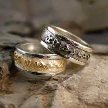 Personalized Magical Couples Rings V1