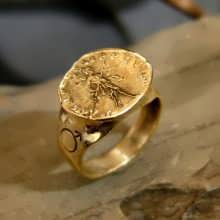 Mars In Capricorn Talisman Ring Gold (*Sold Out!*)